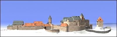Burg frankenstein 1545 rekonstruktionsversuch von michael müller